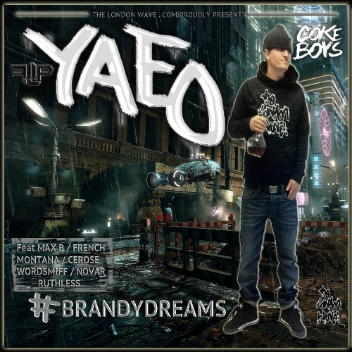 Yaeo - Brandy Dreams (Front Cover) 500