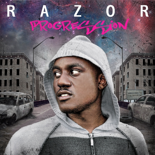Razor - Progression (Front Cover) 500
